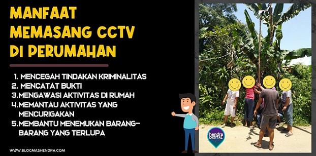 Manfaat Memasang CCTV di Lingkungan Perumahan