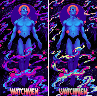 Watchmen Screen Print by Peter Diamond x Bottleneck Gallery