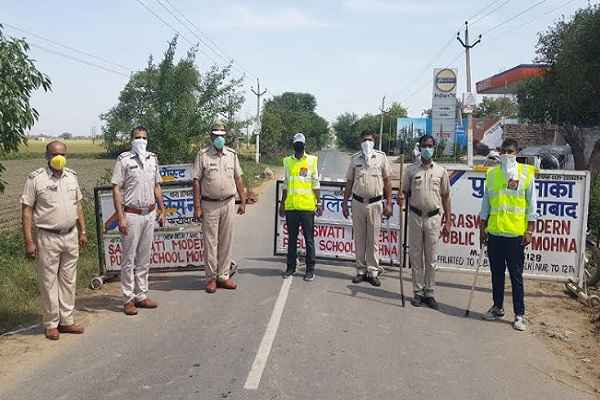 faridabad-police-action-against-rule-breaker-27-march-2020-news