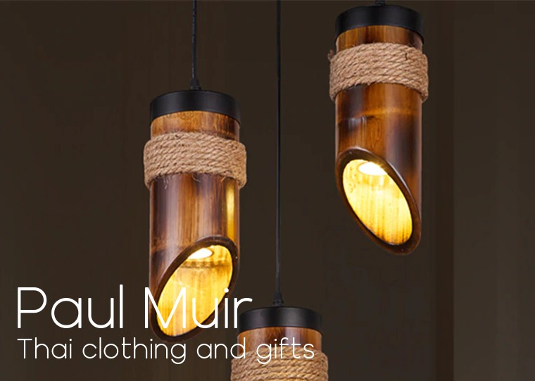 Thai Crafted Bamboo Lighting Indoor And