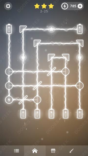 Laser Overload [Beginner] Level 2-25 Solution, Walkthrough, Cheats