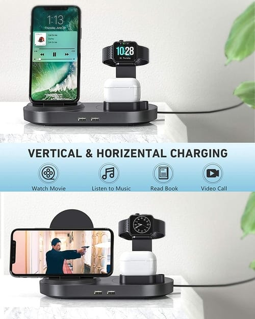 Seenda Fast Charging Dock Stand with 2 USB Ports