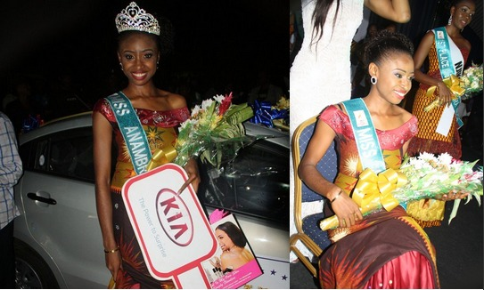EXPOSED!! ONE WEEK AFTER APPEARING IN COURT, ABS RETURNS MISS ANAMBRA CHIDINMA OKEKE'S CAR TO HER, THREATENS HER (MUST READ)