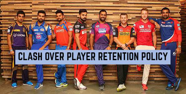IPL franchises to Consider over Favours to CSK and RR on Player Retention Policy: IPL 2018