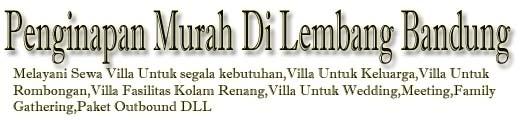 Sewa Penginapan Villa Murah Di Lembang Bandung Villa Istana Bunga Private Pool Untuk Rombongan