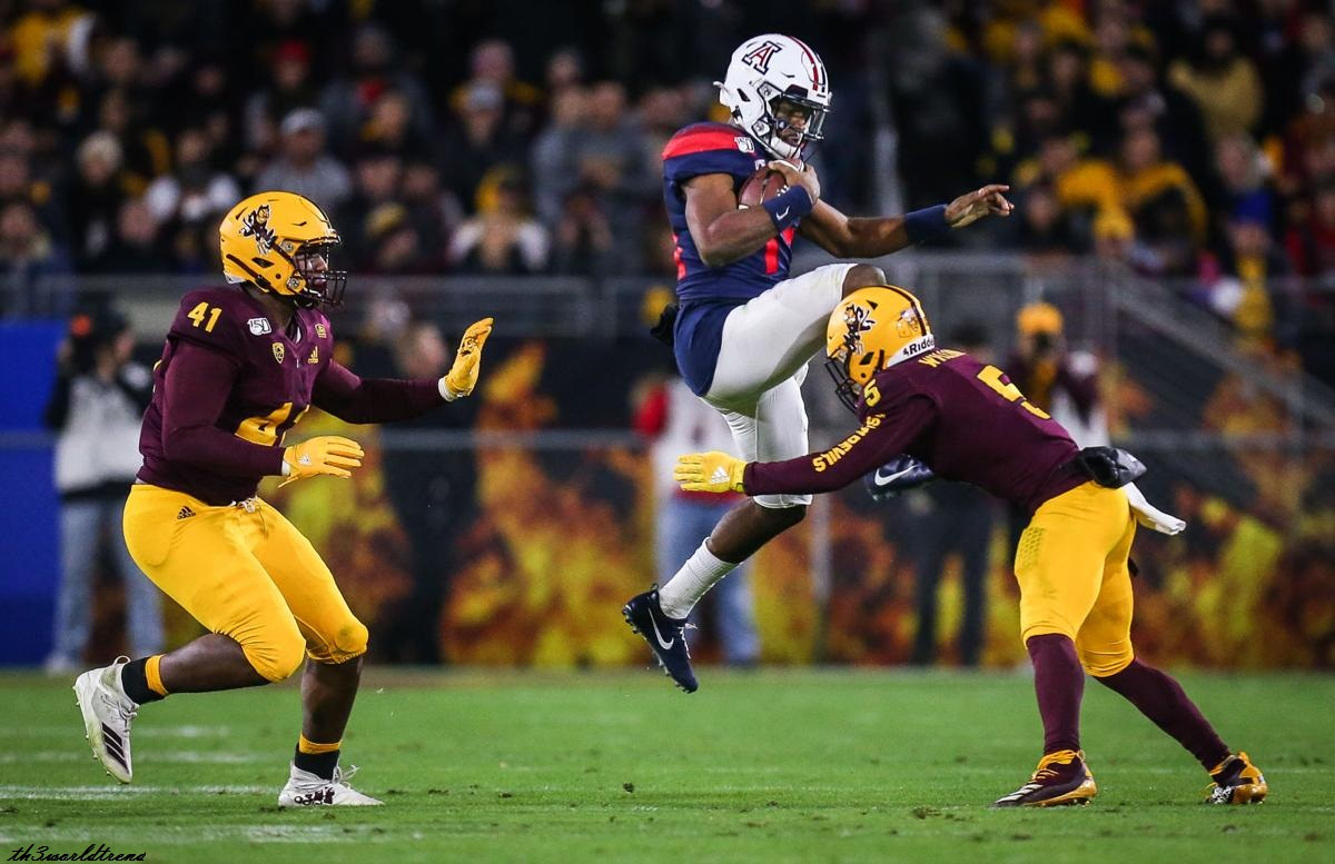 Notes, quotes and stats from the Arizona Wildcats' 24-14 loss to Arizona State