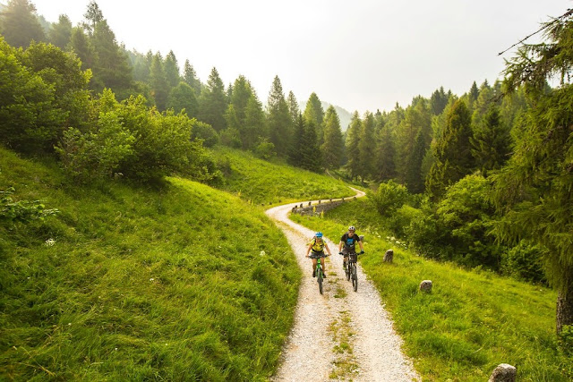 percorsi mountain bike folgaria