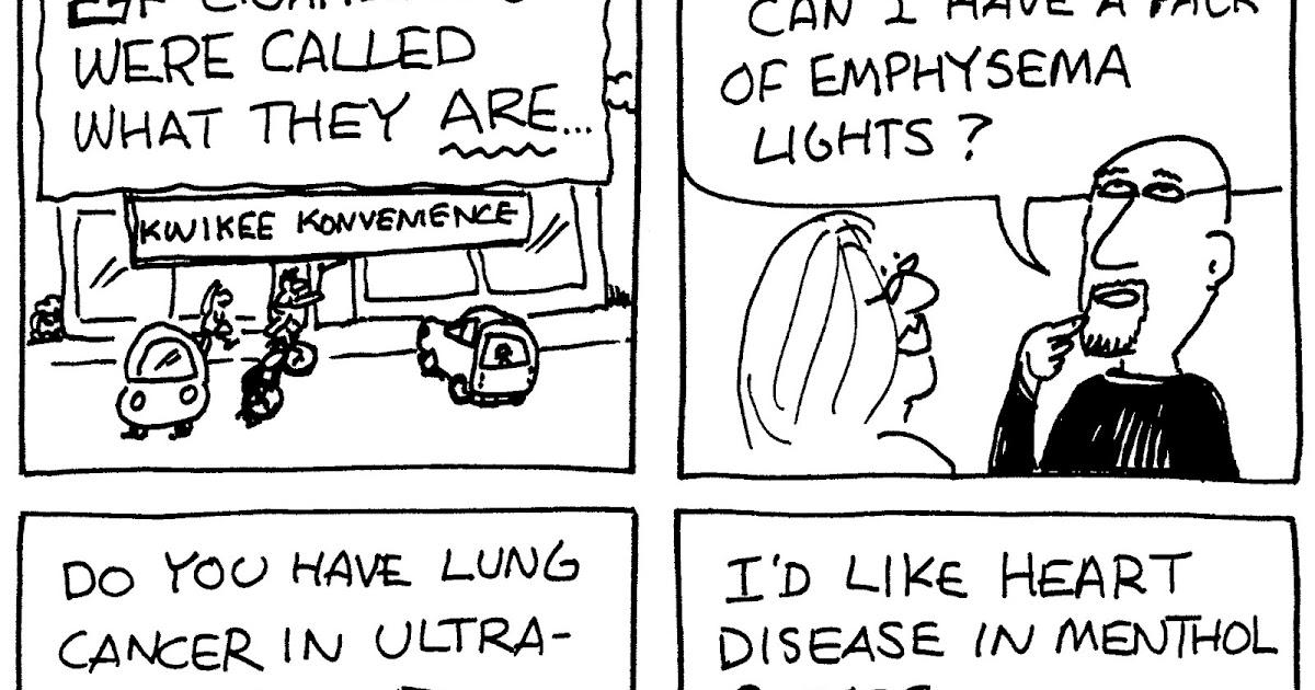 Cartoons for Causes: berry cartoon: anti-smoking