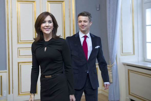 Crown Prince Frederik and Crown Princess Mary give a reception for 2012 Paralympic Games team