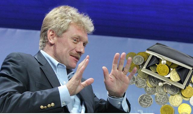 Зарплата 44 % россиян 15 000 рублей и меньше, а Д. Песков отказался верить