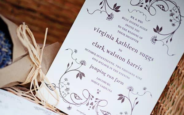 35 diseños de invitaciones para bodas creativas