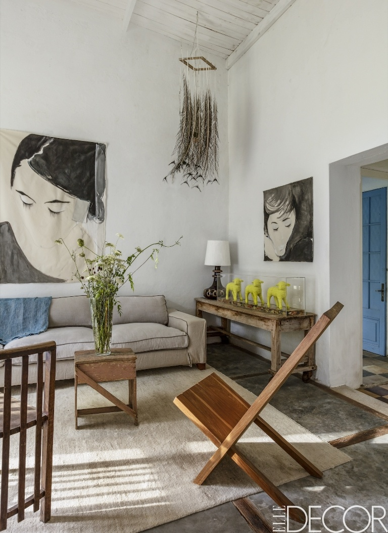 tour a country home renovation in uruguay :: cool chic style fashion