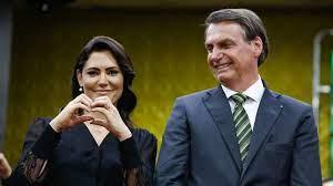 Michelle sobre Bolsonaro: 'Meu marido é um milagre'