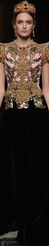 Dolce&Gabbana Alta Moda S/S 2016