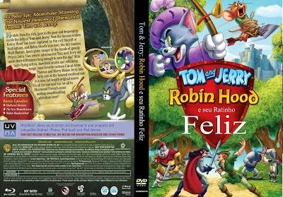 Tom e Jerry Robin Hood e seu Ratinho Feliz