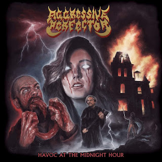 "Το τραγούδι των Aggressive Perfector ""Into the Nightmare"" από το album ""Havoc at the Midnight Hour"""