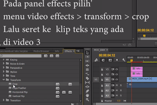panel effects adobe premiere