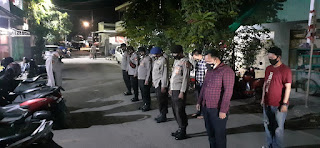 Beri Rasa Aman pada Masyarakat Polres Pelabuhan Makassar rutin Strong Point dan Patroli, Cegah Tawuran