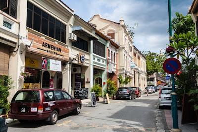 armenian street tempat wisata wajib dikunjungi di penang