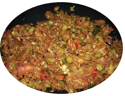 Mixed Vegetable Tawa Fry Sabzi Recipe.