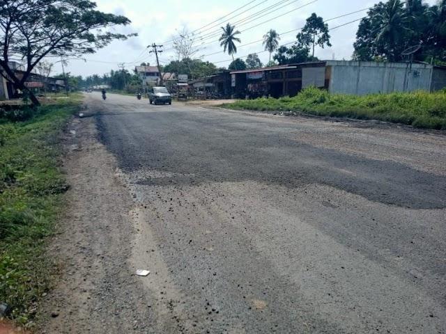 PJN Wilayah 1 Penuhi Janji, Jalan Berlubang di Aceh Timur sudah di Aspal