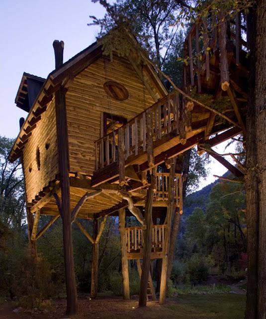 La casa sull 39 albero per grandi e bambini blog di for Grandi piani di casa ranch