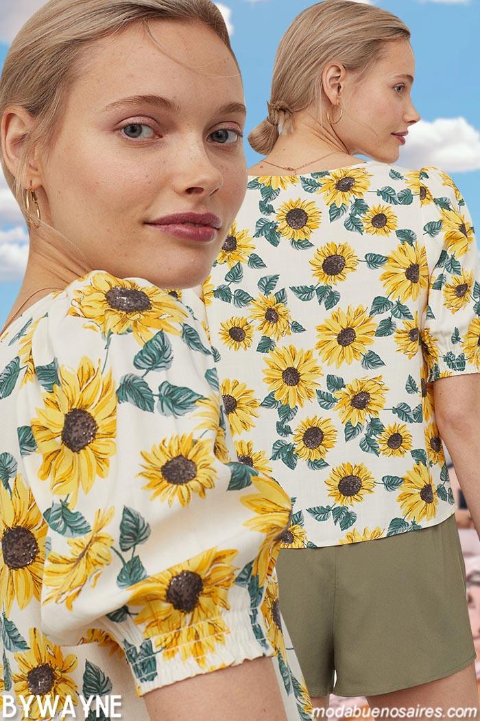 blusas y camisas mujer primavera verano 2021