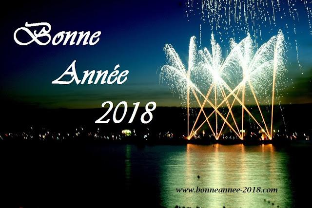 images bonne année 2018