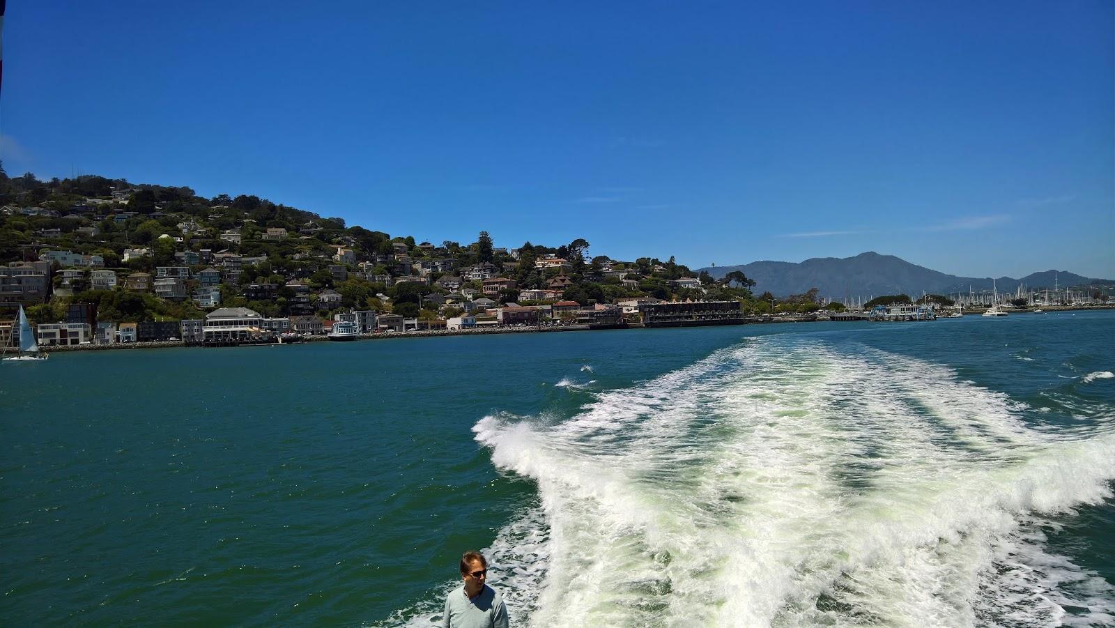 sausalito california lautta san francisco matkailu matkajuttu mallaspulla