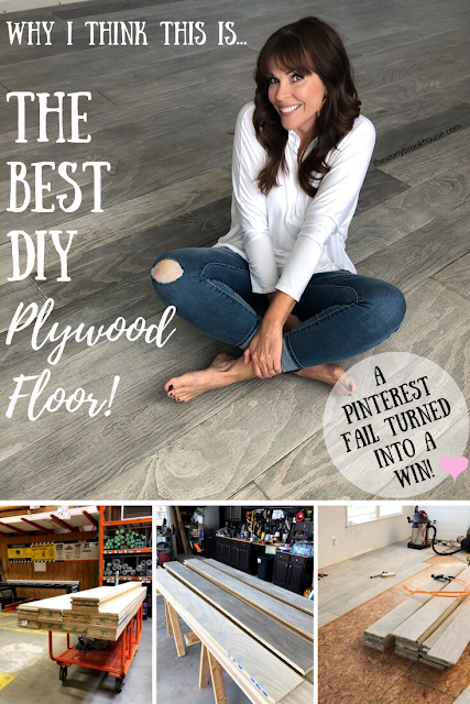 The Best DIY Plywood Floors