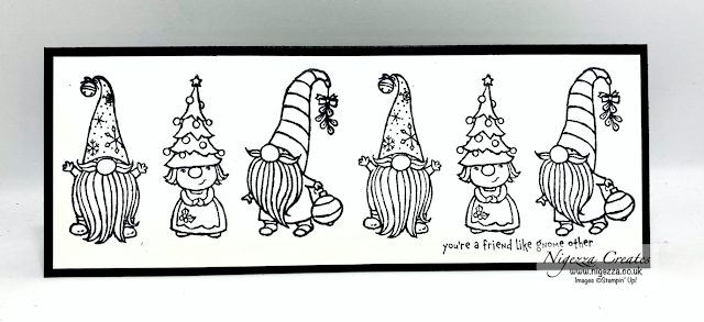 #simplestamping with Gnome For The Holidays