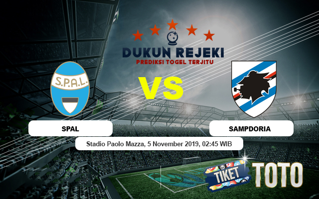 Prediksi Spam vs Sampdoria 5 November 2019 Serie A