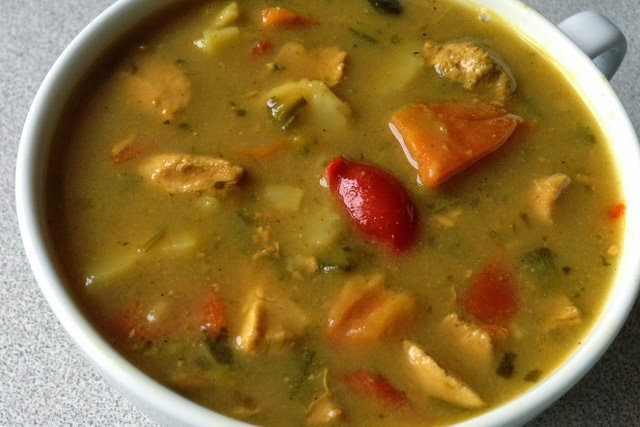 Curried Chicken Soup recipe