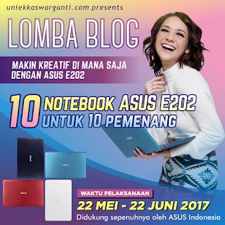 http://serbakuis.com/lomba-blog-uniekkaswarganti-berhadiah-10-unit-notebook-asus-e202/