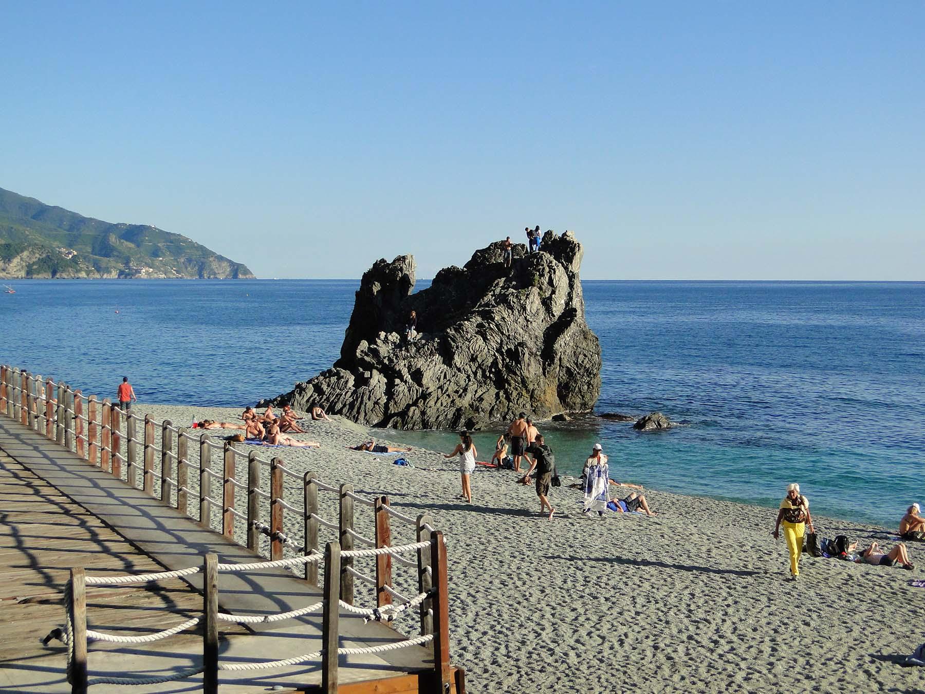 Praia de Fegina, Monterosso, Cinque Terre