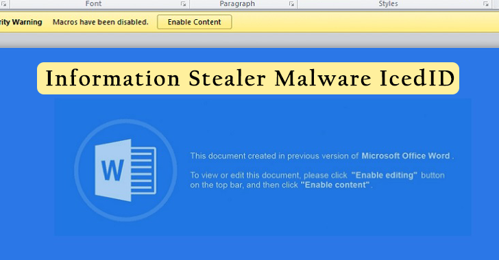 TA551 Hacker Group Pushes New Information Stealer Malware IcedID