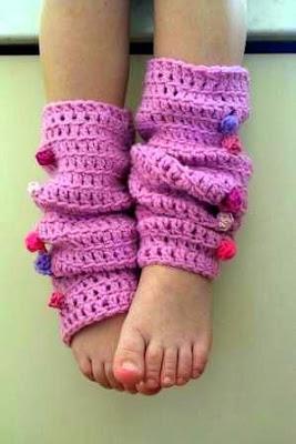 2cut E 2sew Crochet Leg Warmers Pattern