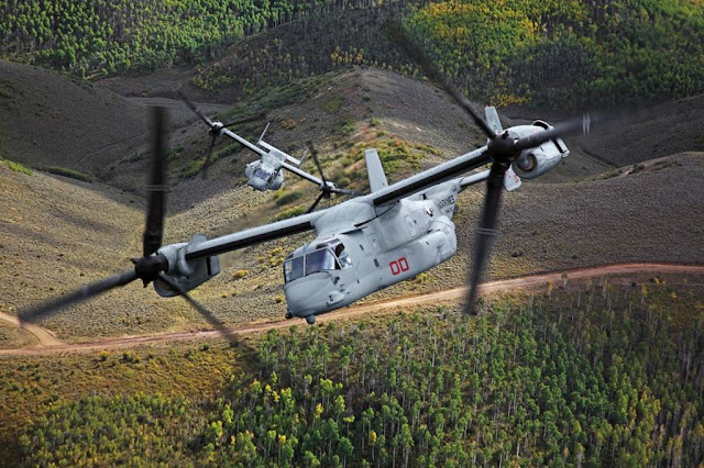 Bell Boeing begin CMV-22B production