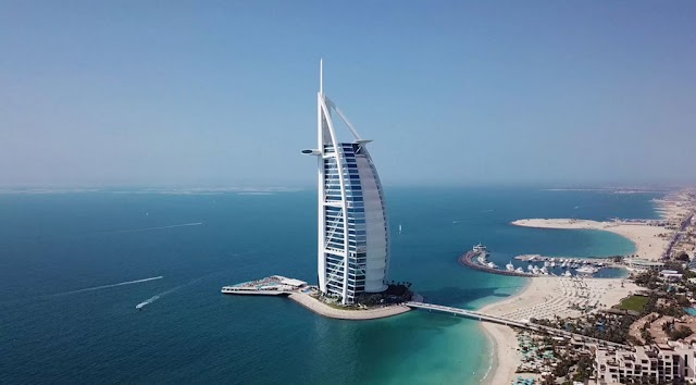 The luxury of a 7-star hotel for the super rich in Dubai