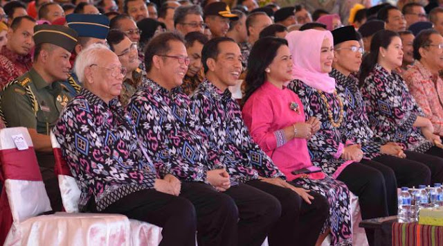 Presiden Jokowi di Kritik pedas oleh Gubernur NTB di peringatan Hari Pers Nasional (HPN) 2016 di Lombok