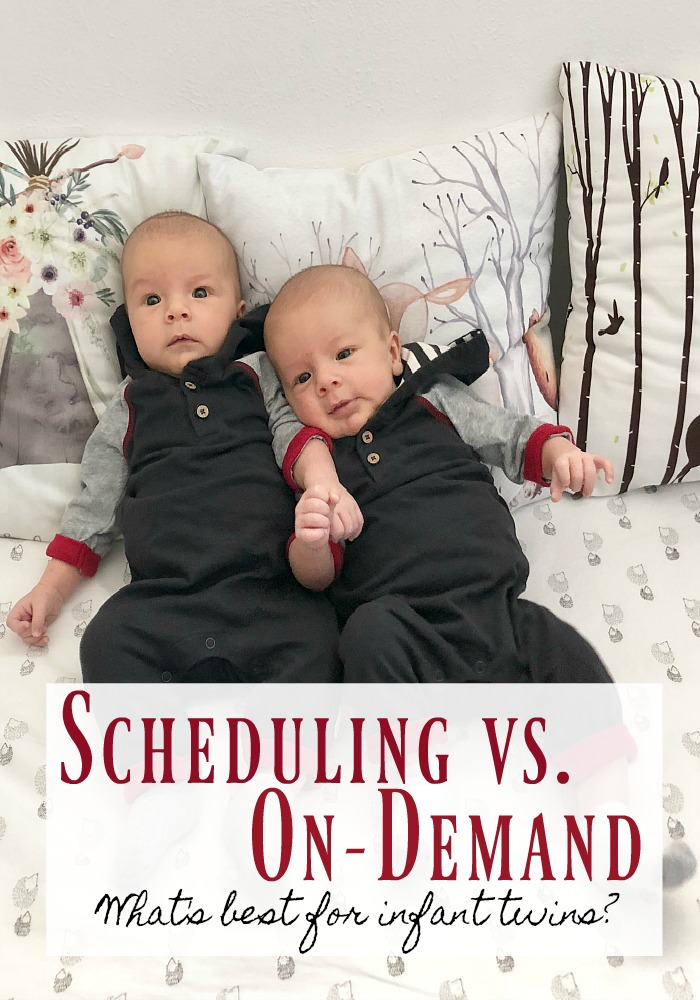 Are infants better off on a schedule or on demand, when they dictate how their days go? A mom of four children shares her experience with both methods