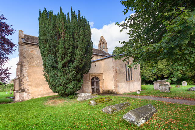 Medieval church in the Oxfordshire Cotswold village of Kelmscott by Martyn Ferry Photography