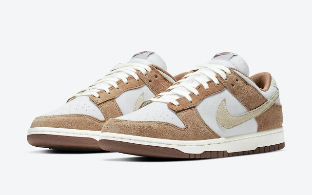 The Nike Dunk Low PRM Medium Curry