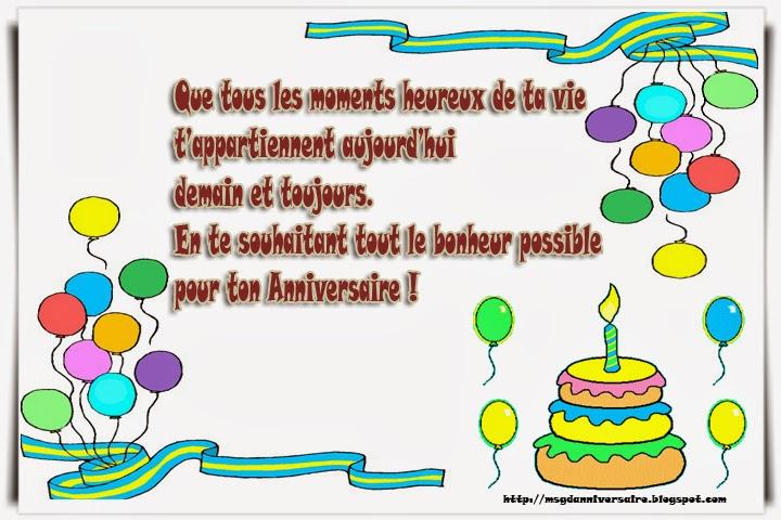 anniversaire de naissance voeux