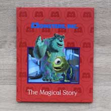 Monster Inc Story Book