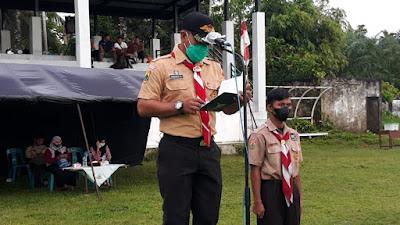 Secara Resmi Perjusami Pramuka SWK Kodim 0105/Abar Di Tutup Oleh Pasiter
