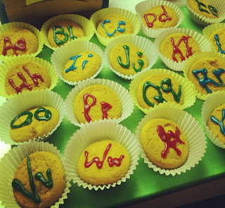 abc cup cakes