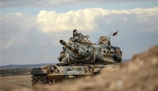 Militer Turki Kembali Serang Pasukan Asad Dan YPG Di Aleppo Utara