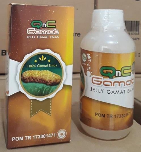 Jelly Gamat QNC Untuk Batu Empedu