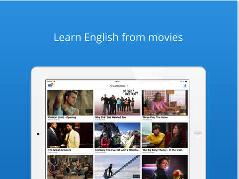 Learn american english through movies with subtitles in